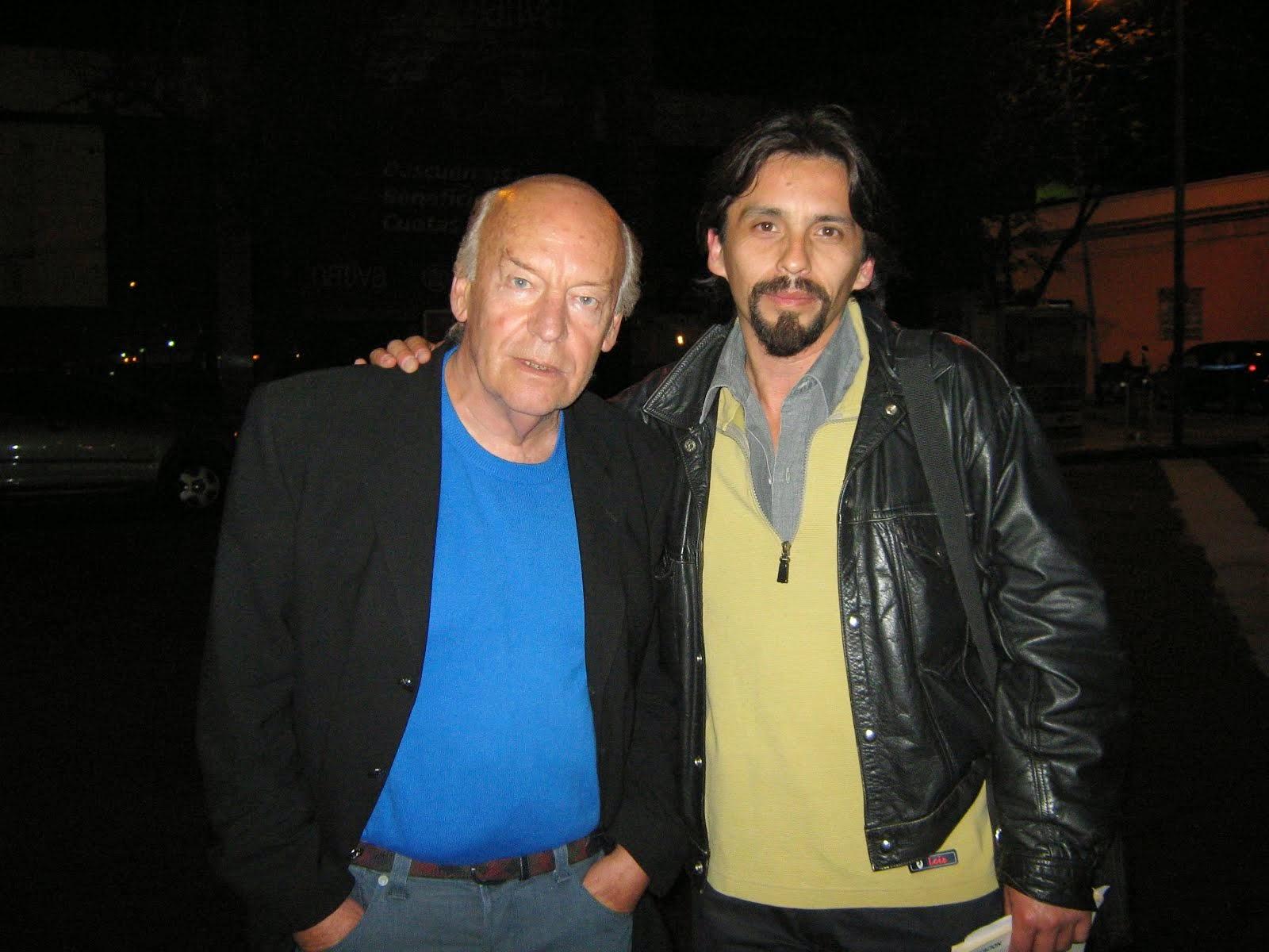 Con Eduardo Galeano