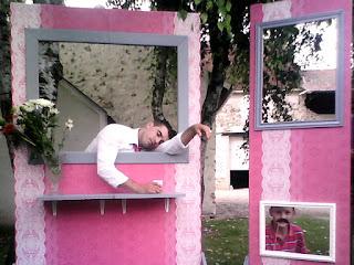 Photobooth mariage, cérémonie laïque, mariage, photobooth, weedingblues, gris, fuschia