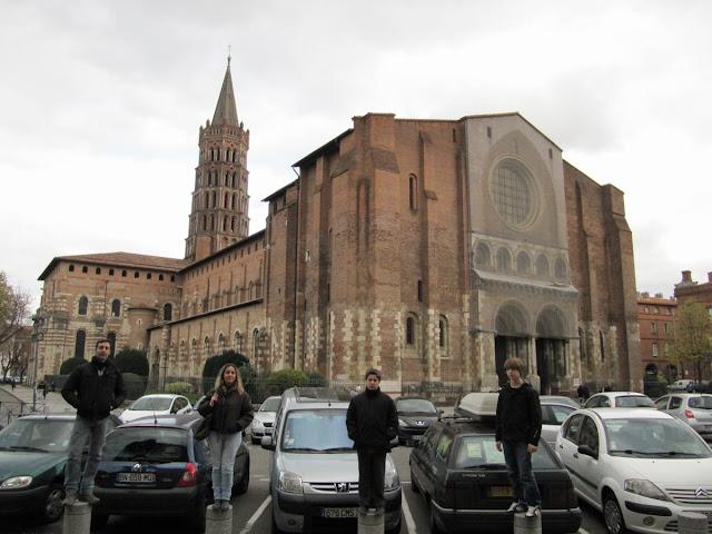 Saint Sernin Toulouse, catedral toulouse, romanico frances, catedral peregrinacion, san Saturnino