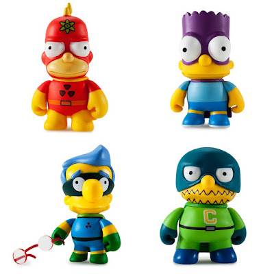 The Simpsons 25th Anniversary Mini Figure Series by Kidrobot