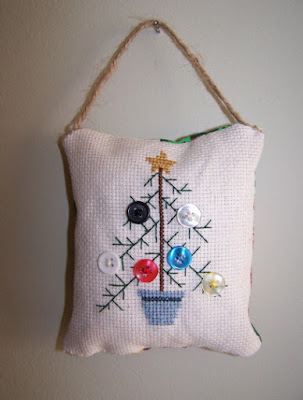 Cross stitch ornaments 1