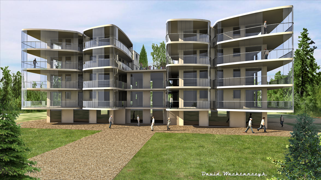 3d wacht david architecture for Architecture projet