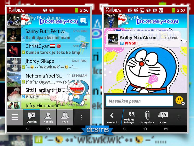 BBM Mod Doraemon Versi 2.2.1.45