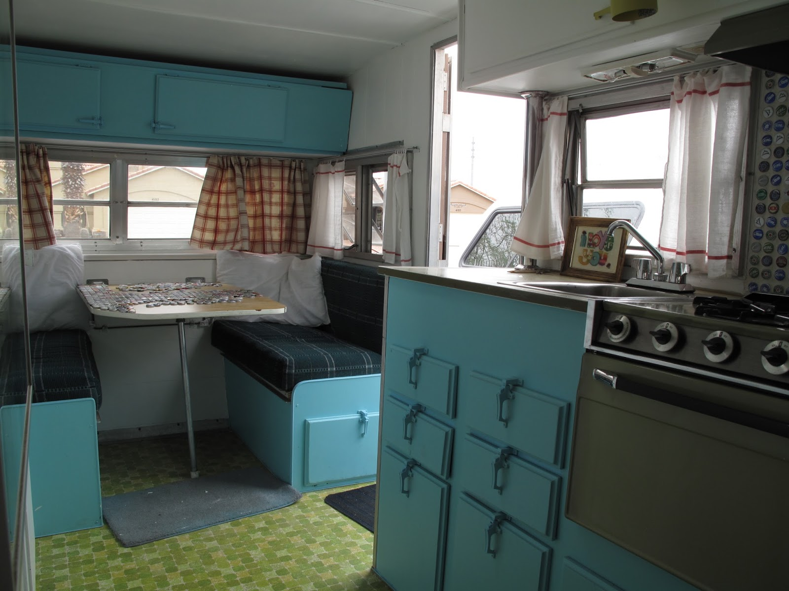 Its All About Us Vintage Travel Trailer Makeover