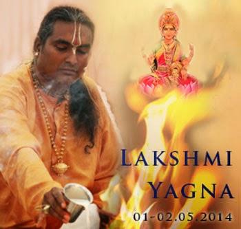 Lakshmi Yagna com Sri Swami Vishwananda
