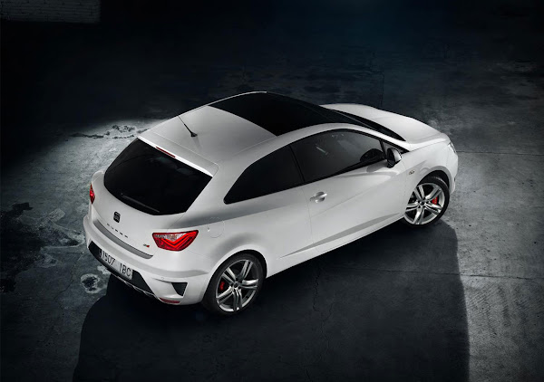 The New Seat Ibiza Cupra top
