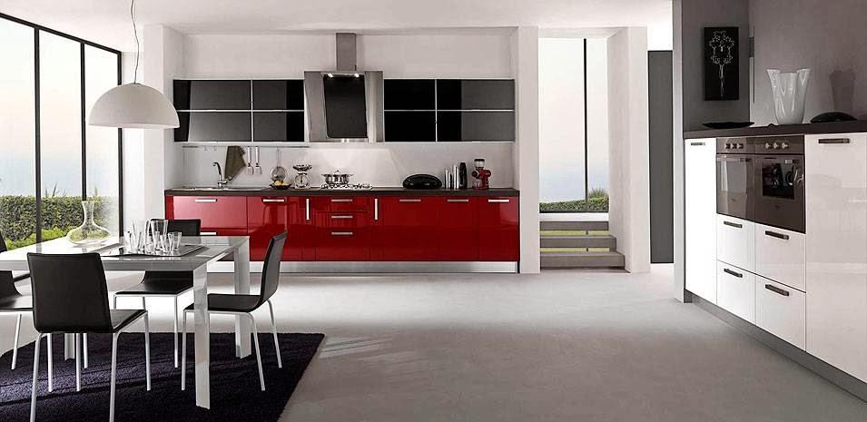 Materiales para cocinas ii lacados los m s vers tiles for Cocinas modernas moradas