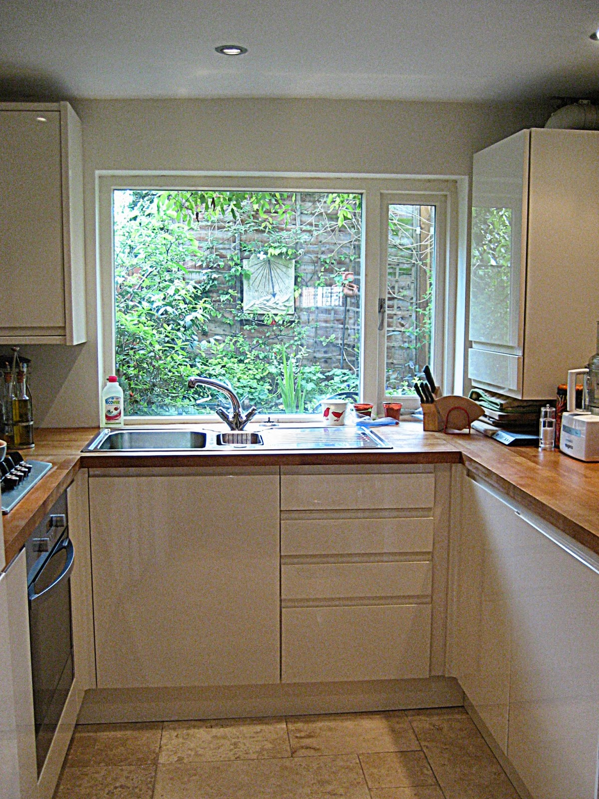Pebble soup seven things i learnt about designing a small U shaped kitchen ideas uk
