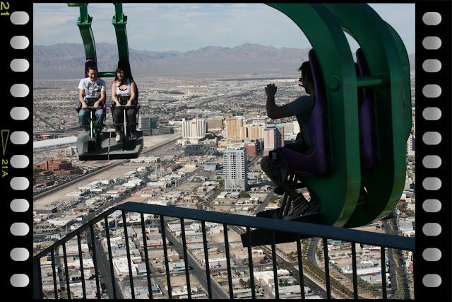 Atracciones en el Stratosphere, Las Vegas. insanity