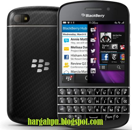 Harga Hp BlackBerry Q10 Dan Spesifikasi Terbaru