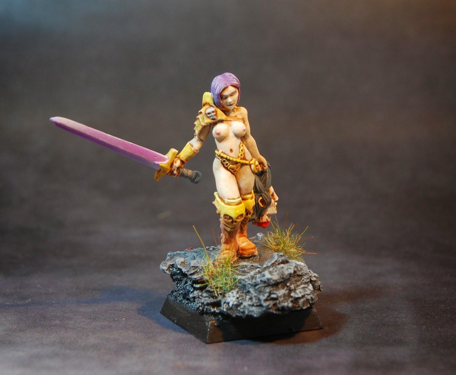 figurine a peindre fantasy