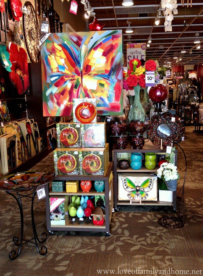 Kirklands coupons december 2013 - Lavina Butterfly Canvas Art Via Kirklands