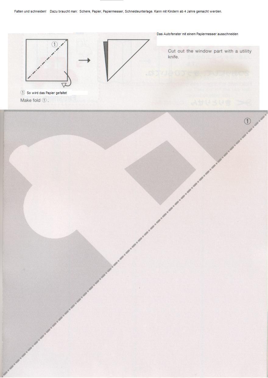 wir basteln falten und schneiden das macht spa. Black Bedroom Furniture Sets. Home Design Ideas