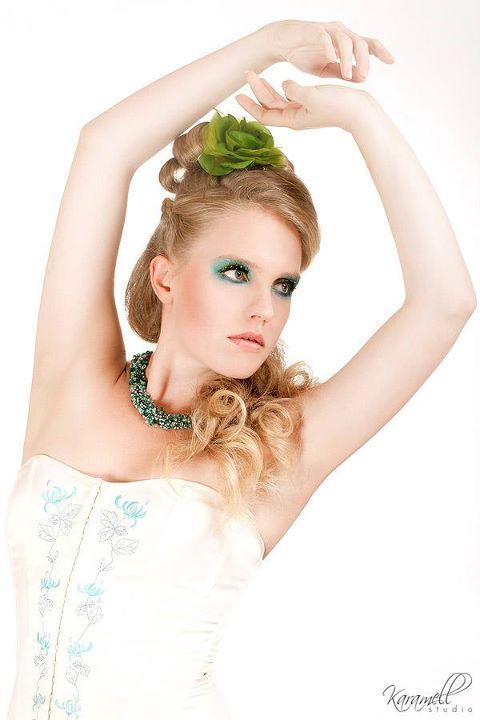 Lime Green Eye Makeup