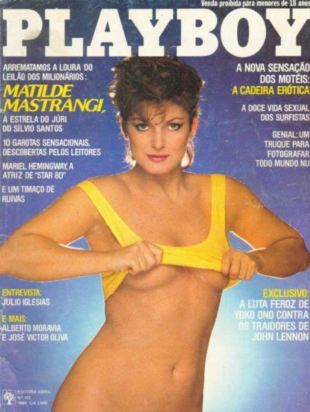 Matilde Mastrangi - Playboy