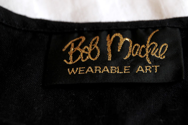 Vintage Bob Mackie label