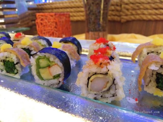 sushi, Steamboat Empire, Cyberjaya