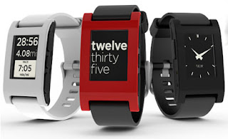 Hands on with Pebble smartwatch