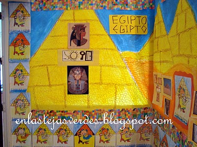 El vaiv n de mi vida secuencia did ctica egipto final for Mural egipcio