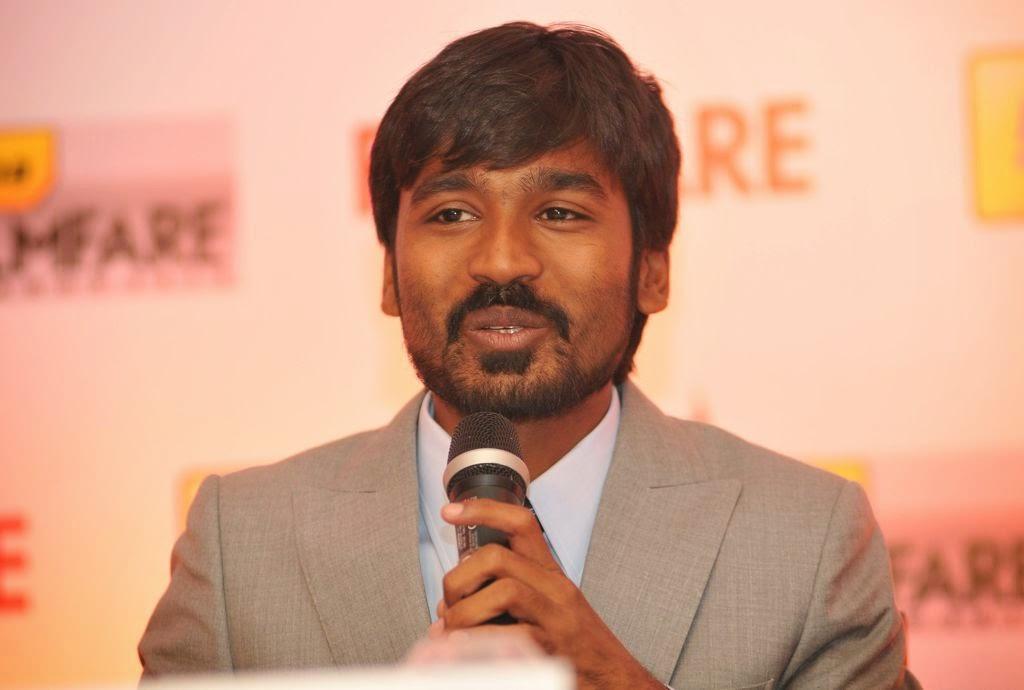 Dhanush at Idea film fare awards-HQ-Photo-18