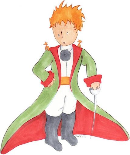 Ο μικρός πρίγκιπας (στον βασιλιά)