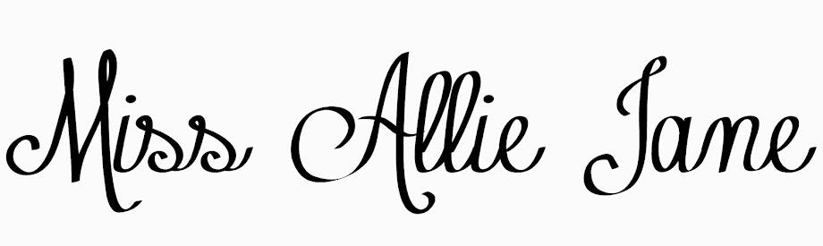 Miss Allie Jane