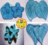 Frisadores flores E.V.A - Diy