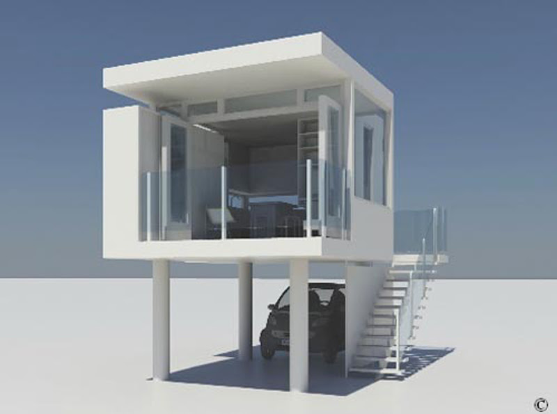 Modern Small Homes Designs - Modern Home Designs title=