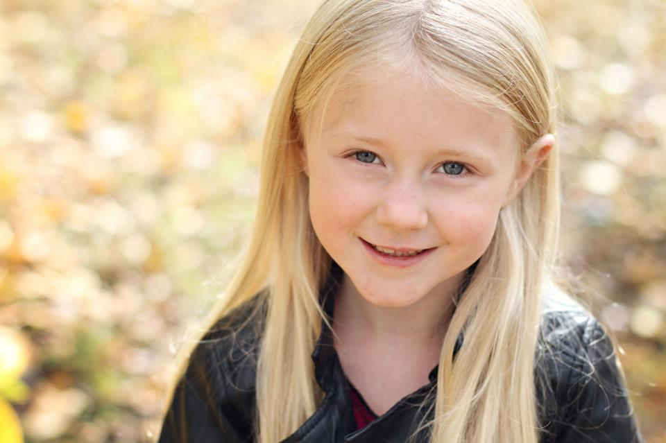 The Adorable Little Keira Rickard Just Booked Her First Modeling Job