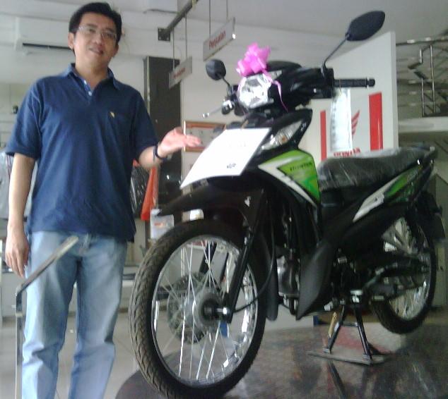 Beli Motor Hadiah Motor