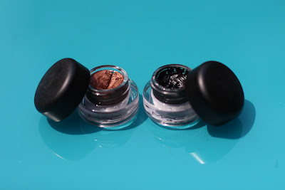 MAC Fluidline Gel Eyeliner in Blacktrack and Rich Ground