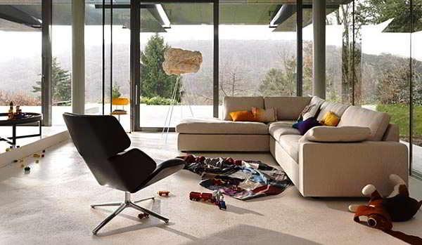 Model Kursi Sofa Ruang Tamu Rumah Kontemporer