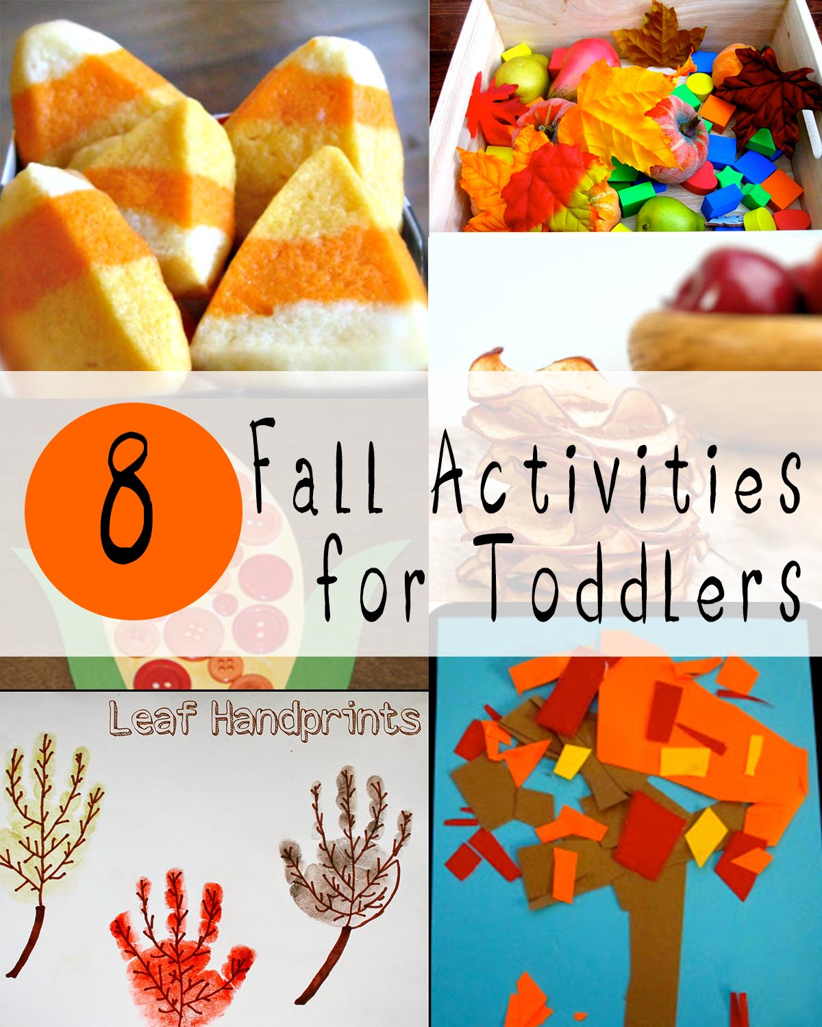 Fall colors activities for toddlers - Fall Activities For Toddlers