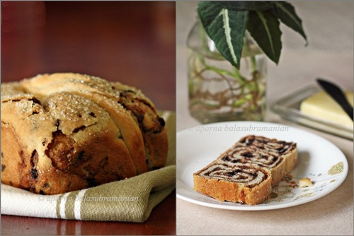 walnut bread chocolate walnut povitica a croation sweet walnut walnut ...