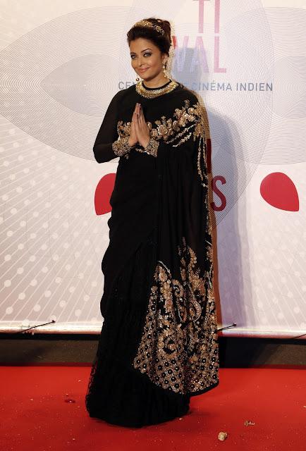 Aishwarya cannes 2013 sabyasachi