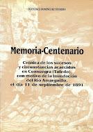 """Portada del libro """"Memoria-Centenario... de la inundación del 11 de septiembre de 1891"""""""