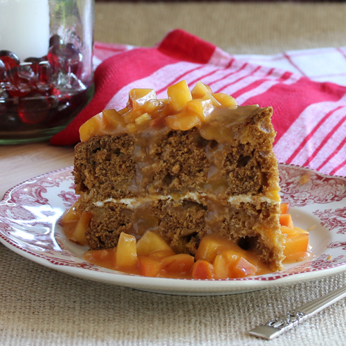 Have Recipes Will Cook Ginger Cake With Fruit Sauce