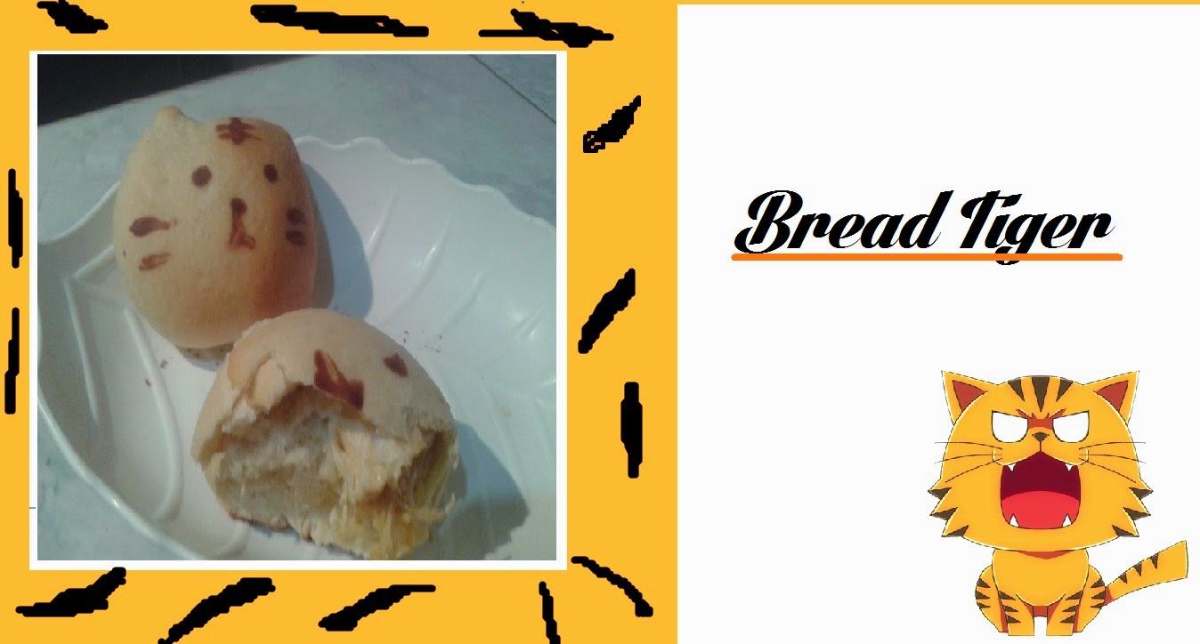 Cozinha Kawaii, Bread Tiger,Bread, kawaii, Crazy and Kawaii Desu, Kawaii Desu,