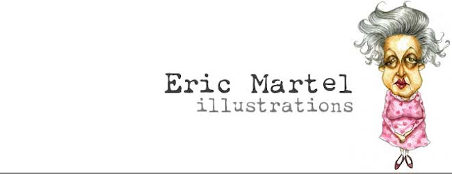Eric Martel illustrations