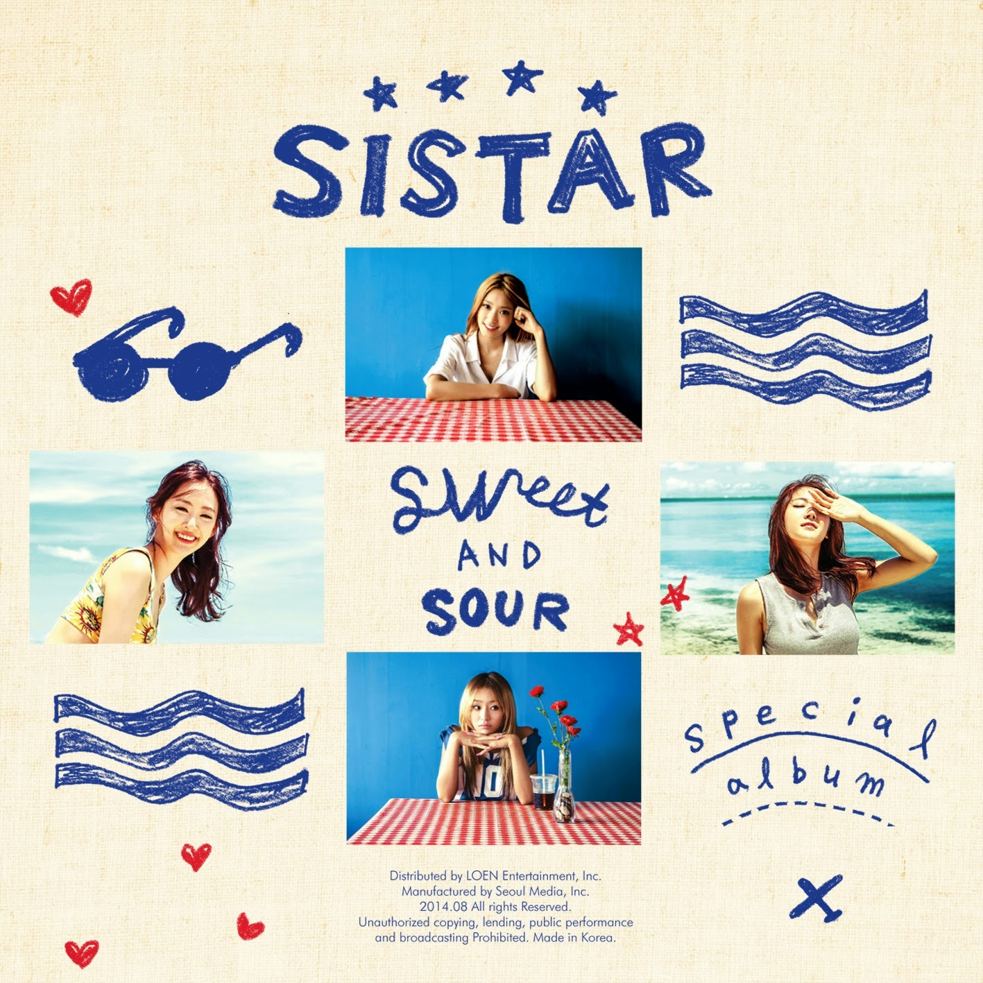 SISTAR Sweet And Sour Cover