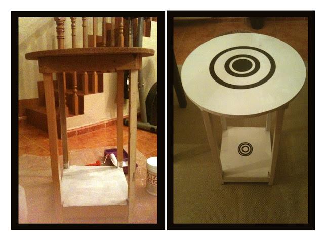 Transformar, tunear  y reciclar una mesa camilla
