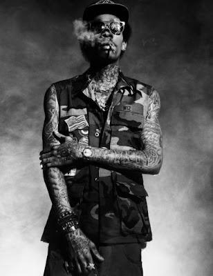 wiz khalifa tattoos 2011