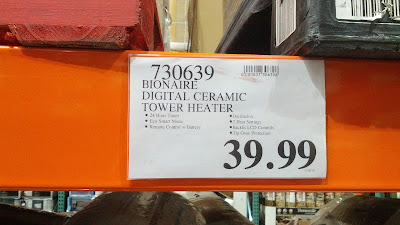 Bionaire Digital Ceramic Tower Heater at Costco