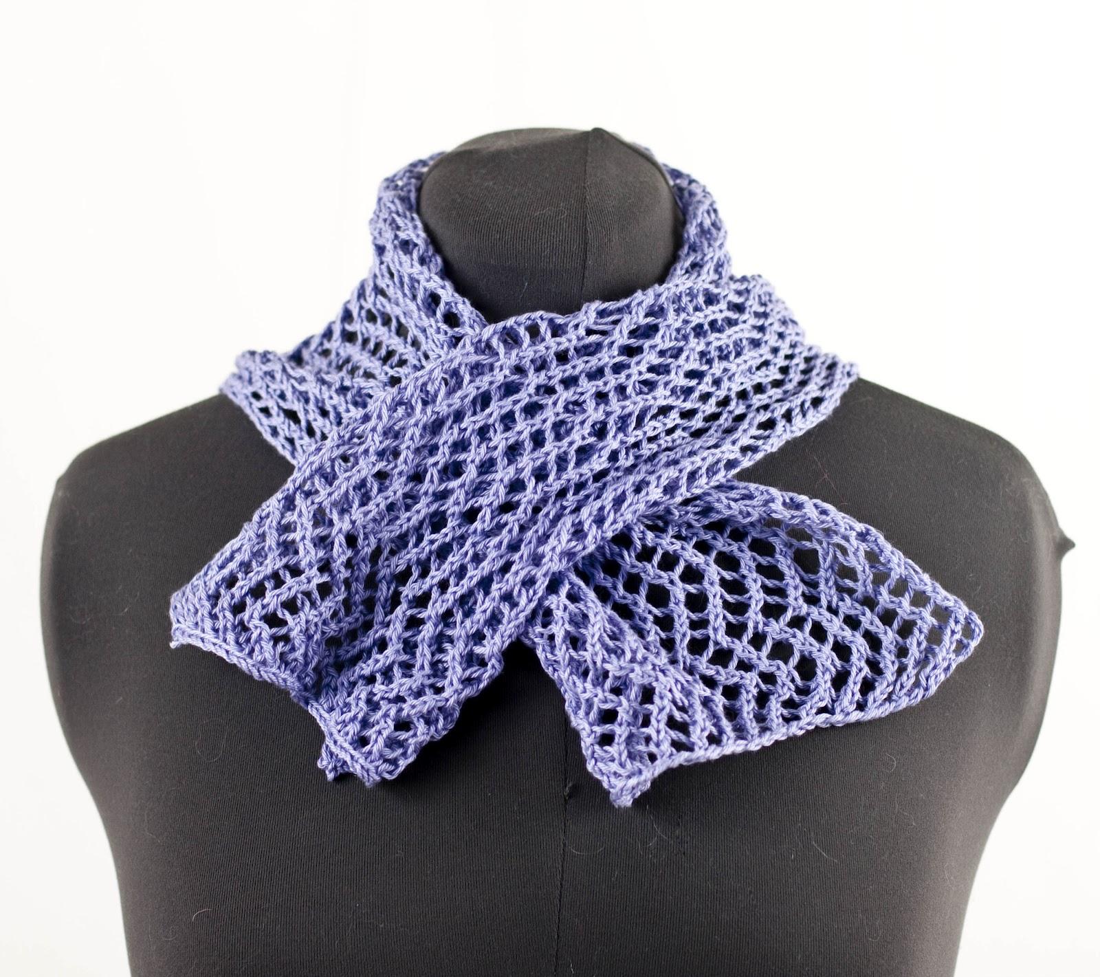 Lace Zig Zag Scarf Knitting Pattern : Cascade yarns ultra pima fine zigzag lace scarf wrap