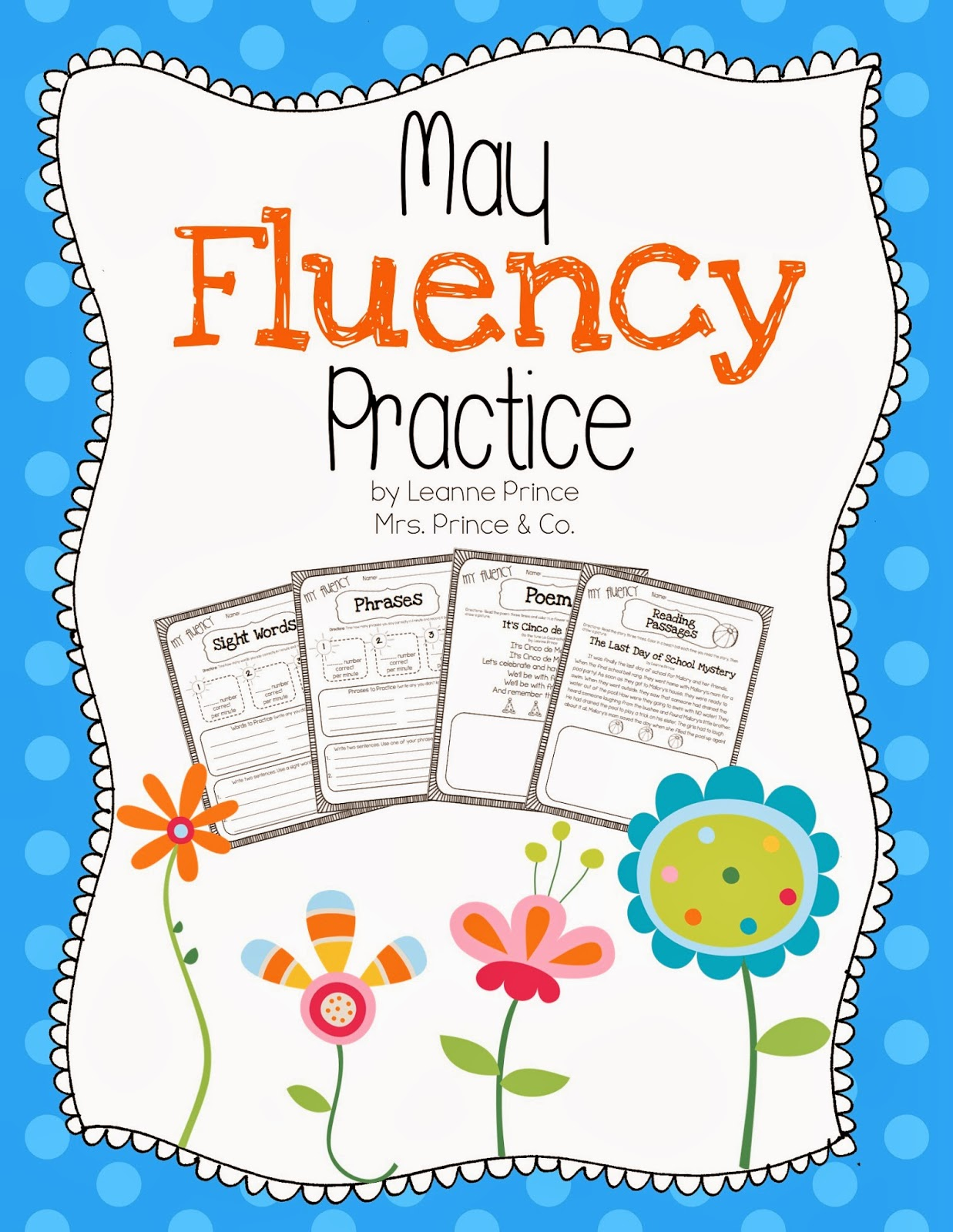 http://www.teacherspayteachers.com/Product/May-Fluency-Practice-686797