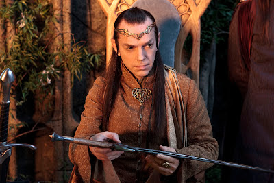 Hugo Weaving as the Elven King Elrond, Directed by Peter Jackson 
