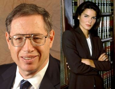 Richard Epstein and Angie Harmon