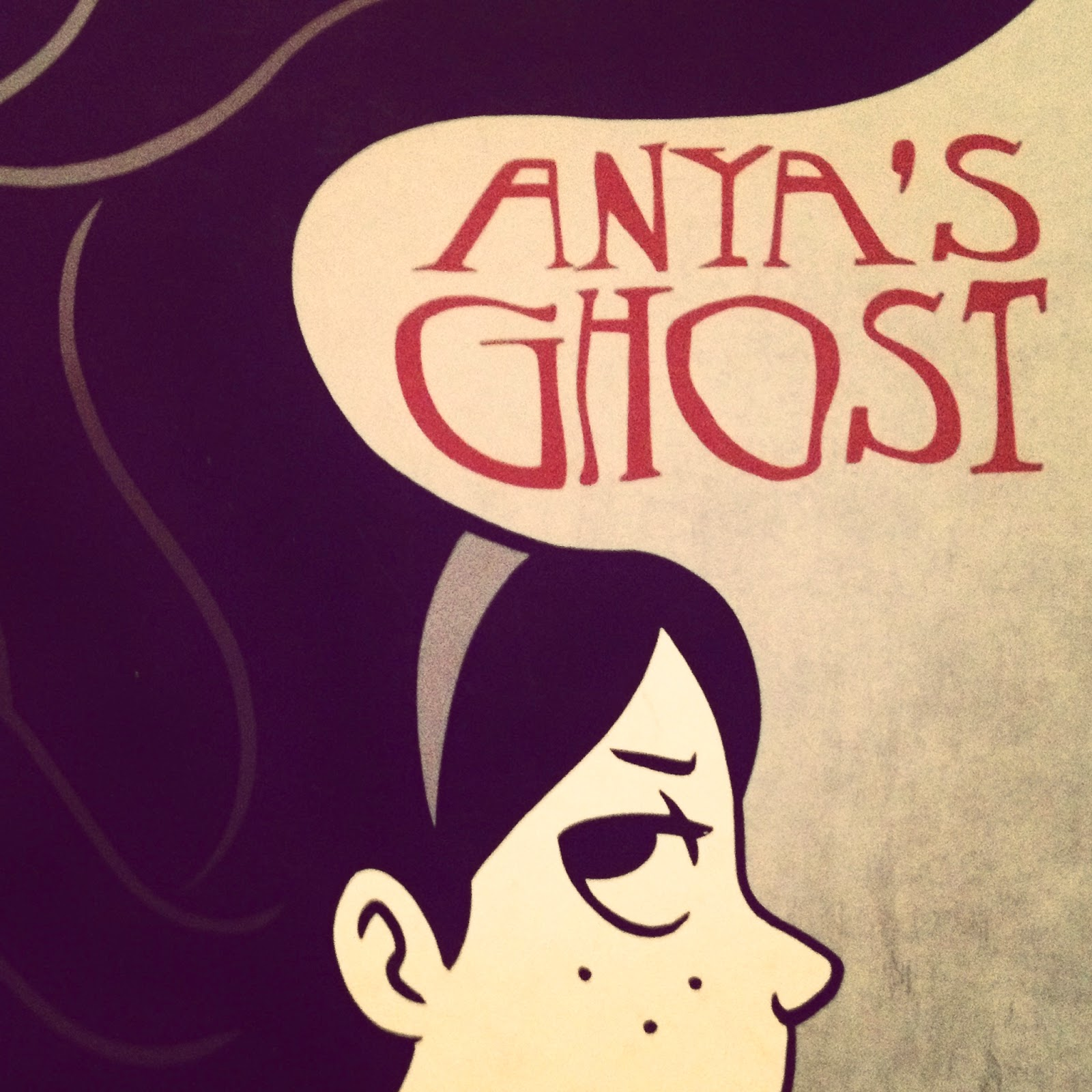 Anyas Ghost - Book Reviews 2014 | Crappy Candle