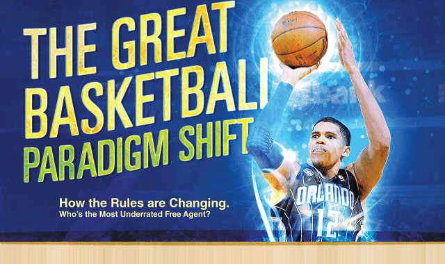 Infographic Ideas infographic basketball : The Great Basketball Paradigm Shift #infographic ~ Visualistan