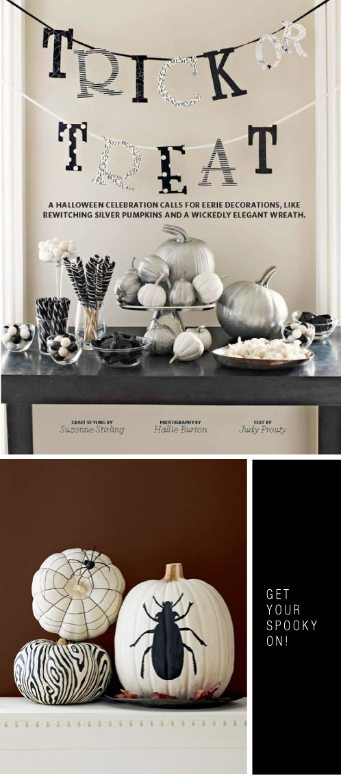 Halloween Week Via colourfulcarla.com | Halloween Decorating